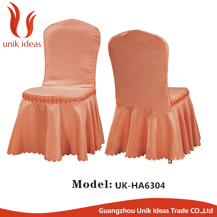 wholesale ruffled chair cover uesd banquet wedding events