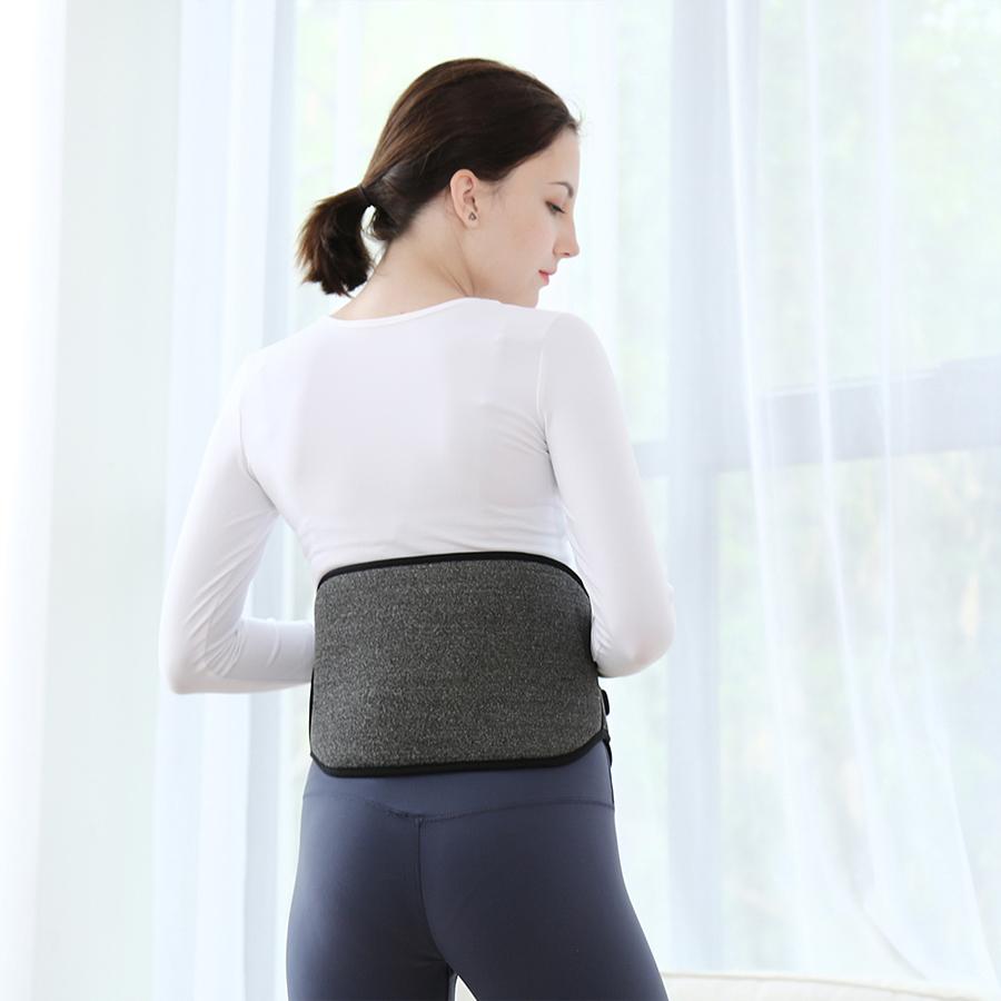 Elastic Super Fino Aquecimento Grafeno Cintura Lower Back Belt Suporte/Brace