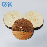 2018 New Style Teda Laser Engraving Wooden post Cards