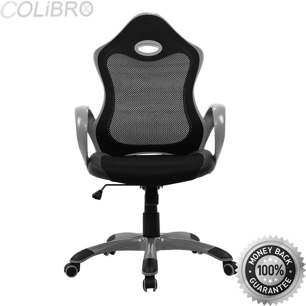 COLIBROX--New Ergonomic Mesh High Back Executive Modern Computer Desk Task Office Chair. high back mesh ergonomic computer desk office chair.amazon stylish ergonomic office chair.best office chair.