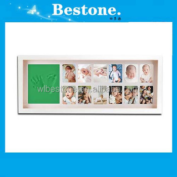 Hot Brand New Baby Handprint And Footprint White Wall Mounted ...
