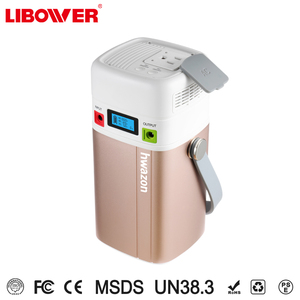 Libower battery for electric bike Portable UPS Battery Backup Generator Rechargeable Power Source Inverter