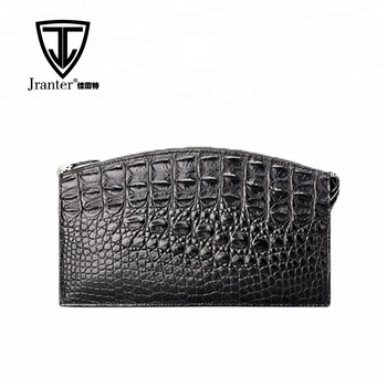 Jranter Men Crocodile Clutch Bag