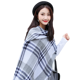 New style simple welcome muffler scarf plaid scarves best seller acrylic fibres scarf customizable shawl