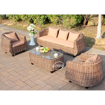 China Garden Wicker Furniture Supplier Outdoor Furniture Exotic Sofa