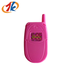 Mini Plastic Baby Girls Pink Cell Phone Toy