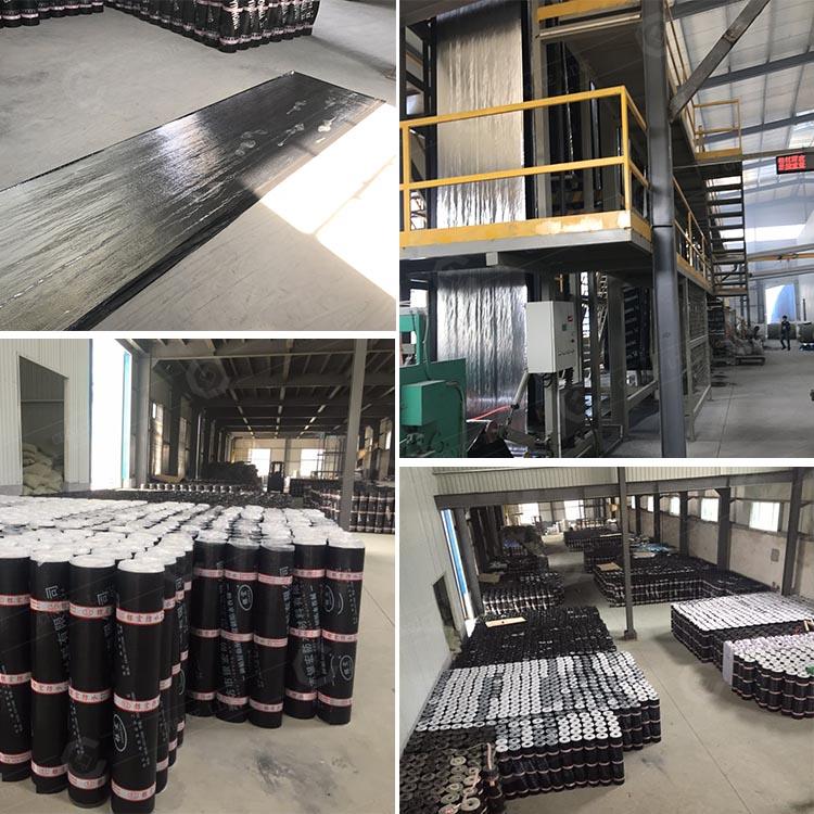 Bitumen Waterproofing Sheet For Waterproof And Damp Proof