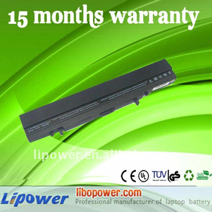 Replacement Model for laptop battery For Asus A42-V6 VX1 V6 8cells