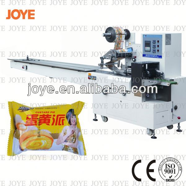 Automatic Pastry/Cookie/Cake Horizontal Egg Roll Biscuit Packaging Machine JY-300/DXD-300