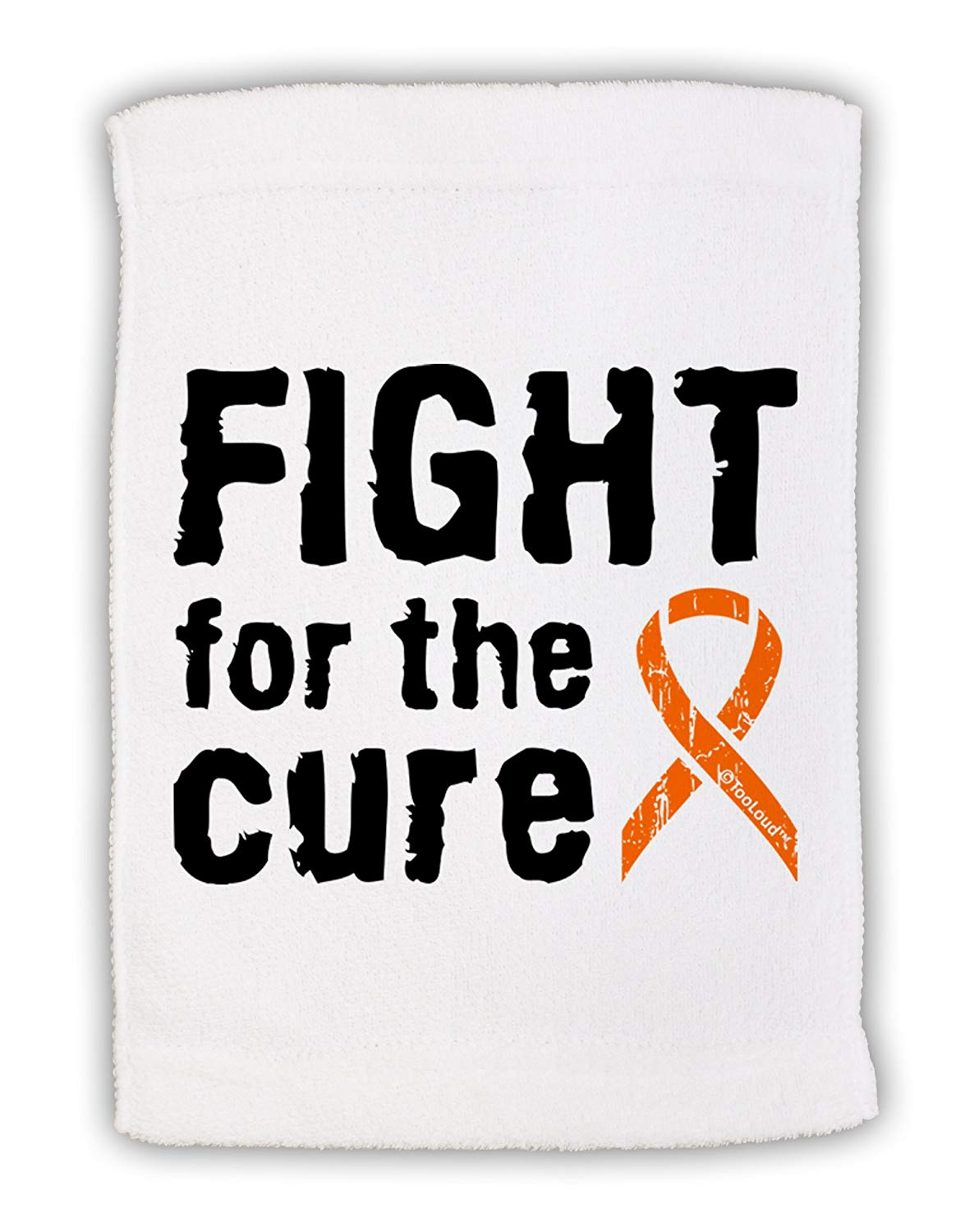 Buy TooLoud Fight for the Cure - Orange Ribbon Leukemia Grocery Tote