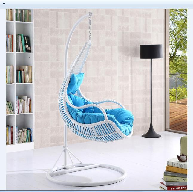 Ei Form Wicker Rattan Schaukel Bett Stuhl Weben Hängen