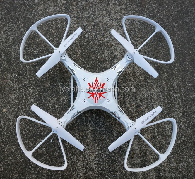 2.4G 4 channel 6 axis rc uav drone with Hd camera 2017