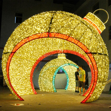 2017 Outdoor LED Bal Arch Kerstversiering