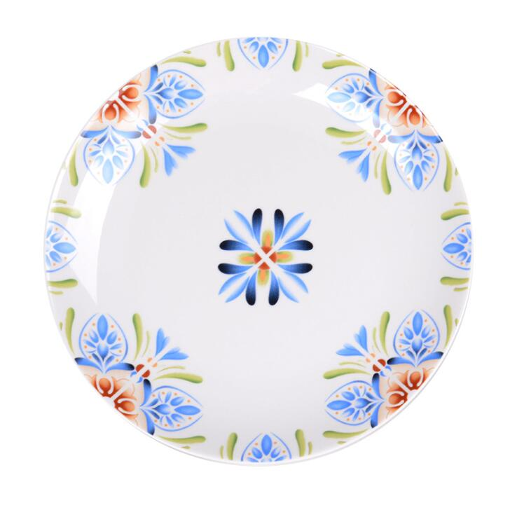 exquisite decal new bone wedding plates for buffet