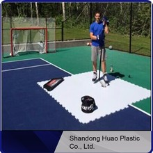 hockey skill pads / synthetic ice / artificial rink