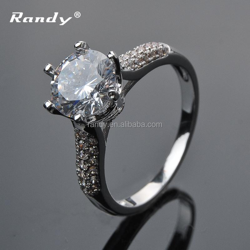 Whole Latest Engagement Wedding Single Diamond Ring Product On Alibaba