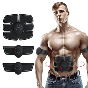High quality factory price EMS 3 pcs of fitness apparatus 3 pcs of pads AB stimulator