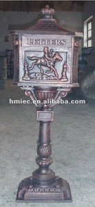 High purity Cast Iron Mailbox