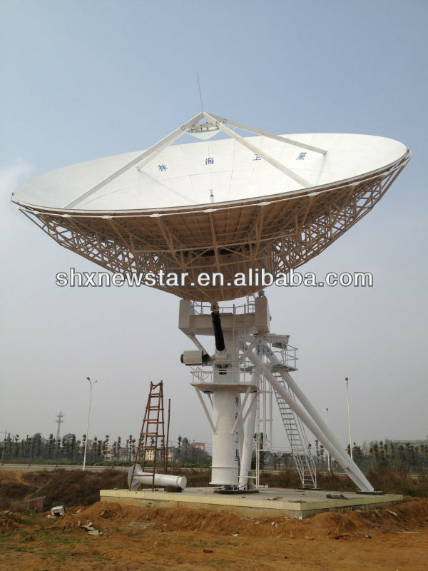 13m strong satellite antenna dish