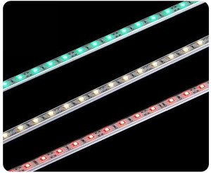 5050RGB hard rigid light led bar DC12V 60 Leds/pc Aluminum 5050 hard led