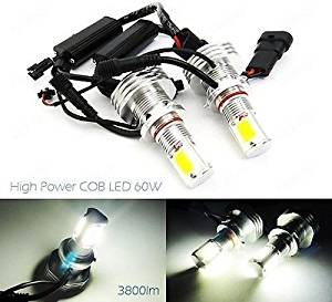 LEDIN 9006 HB4 High Power COB LED HL Low Beam Headlight Bulb 7600lm 60W White