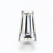 Wholesale Prices Diamond Baguette 컷 Rectangle White Clear DEF 색 모이 사 나이트 Gemstone From Manufacturer