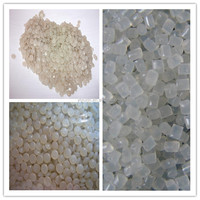 LDPE RECYCLED GRANULES FROM FILM FACTORY WASTE OF A GRADE LDPE resin/ Plastic material LDPE