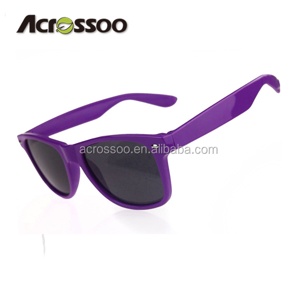 cheap best price China custom made purple color promotion sunglasses