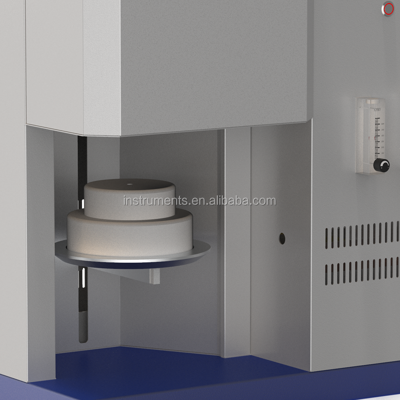 program control Dental Porcelain Furnace / multi-function dental furnace With Elevator Tray