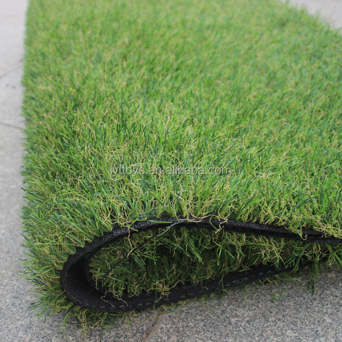 chinese landscaping artificial grass/dhaka artificial grass fence
