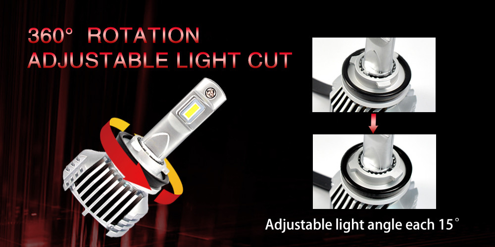 2019 hot h7 halogen bulbs replacement car led lamp P12 super bright high power 45W led headlight h7