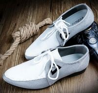 Hot selling fashion white men wedding leather dress shoes