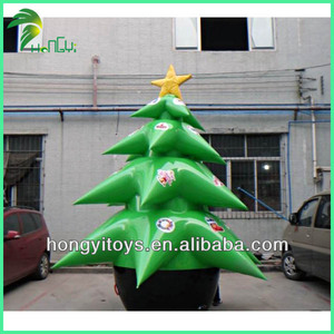 Special Custom Inflatable Christmas Tree Native Christmas Decoration