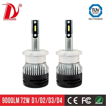 CSP chips reasonable price good lighting beam pattern V5 type d2s bulb des led headlight bulb