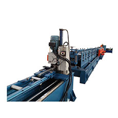 High Speed Full Automatic Carbon Steel Building Material U Bracket C Channel Roll Forming Machine