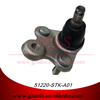 FOR RE2/4/CRV METAL LOWER SMALL SUSPENSION BALL JOINT MANUFACTURER FOR HONDA CARS OEM: 51220-STK-A01