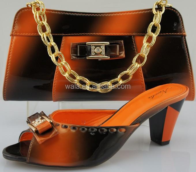 sandal matching SB910 set shoes fashion and 2014 bag orange qxn546Sw