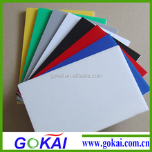 Color good waterproof advertising pvc foam sheet(1-20mm)