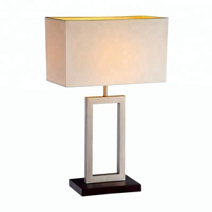 hotel beside decoration study modern iron table lamp