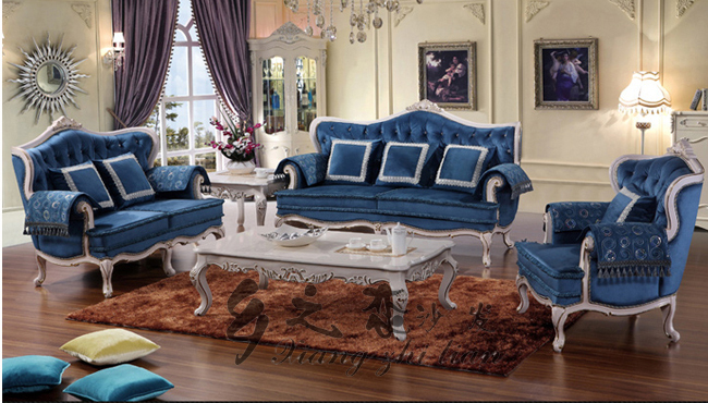 old complete living room set 1 2 3 sofas in french louis xvi style cheap furniture sale buy. Black Bedroom Furniture Sets. Home Design Ideas