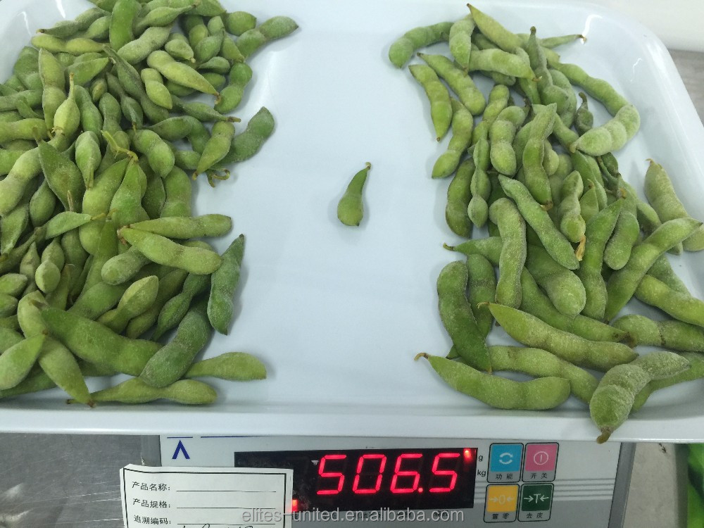 High Quality green soy bean Frozen edamame peeled kernel
