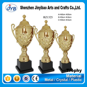 special occasion awarding antique brass custom colors trophy cup