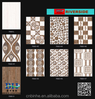 Latest Design 30x45 Bathroom Ceramic Wall Tiles Mainly For Indian