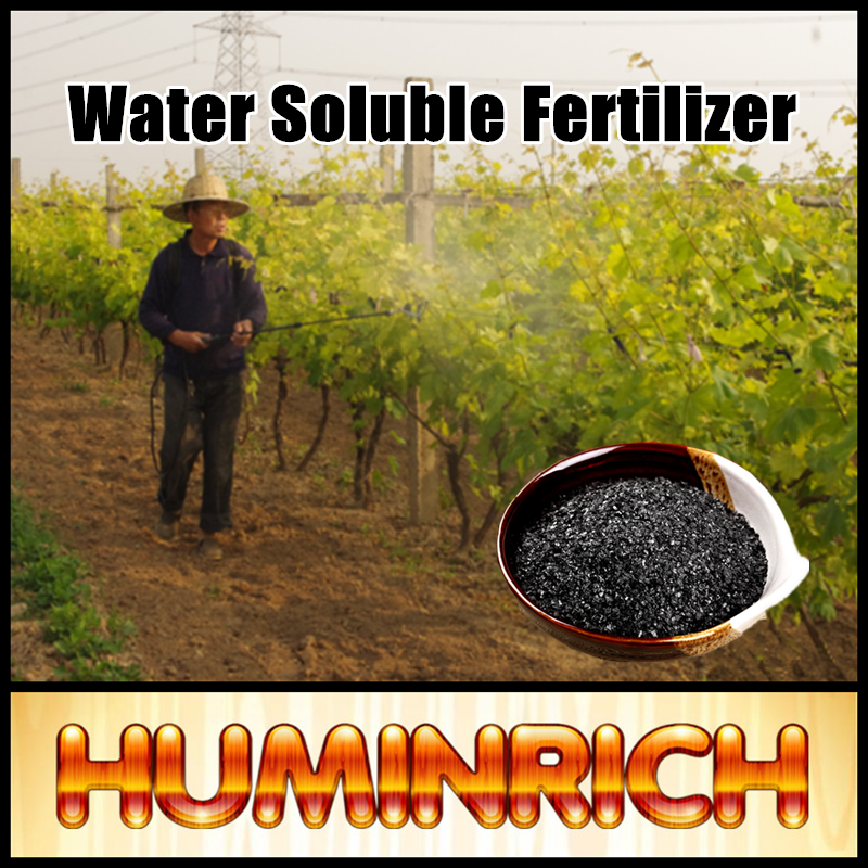 Huminrich 100% Potash Humate Soil Microbe Fertilizer