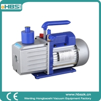 HBS China 2RS-3 two stage vacuum air suction pump HAVC 0.3pa 220V AC vacuum pump for car