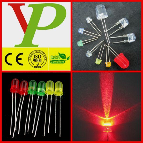 High Quality Super Bright India Price Led Diode 5mm 12v