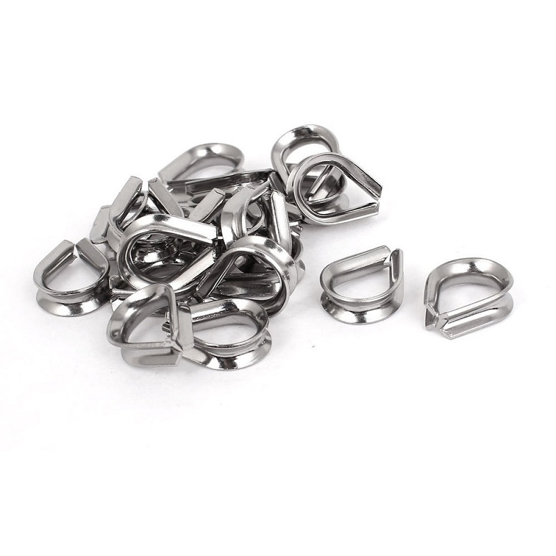 Lifting Marine stainless steel wire rope thimbles
