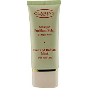 Clarins by Clarins Pure & Radiant Mask With Pink Clay--50ml/1.7oz for WOMEN ---(Package Of 4)