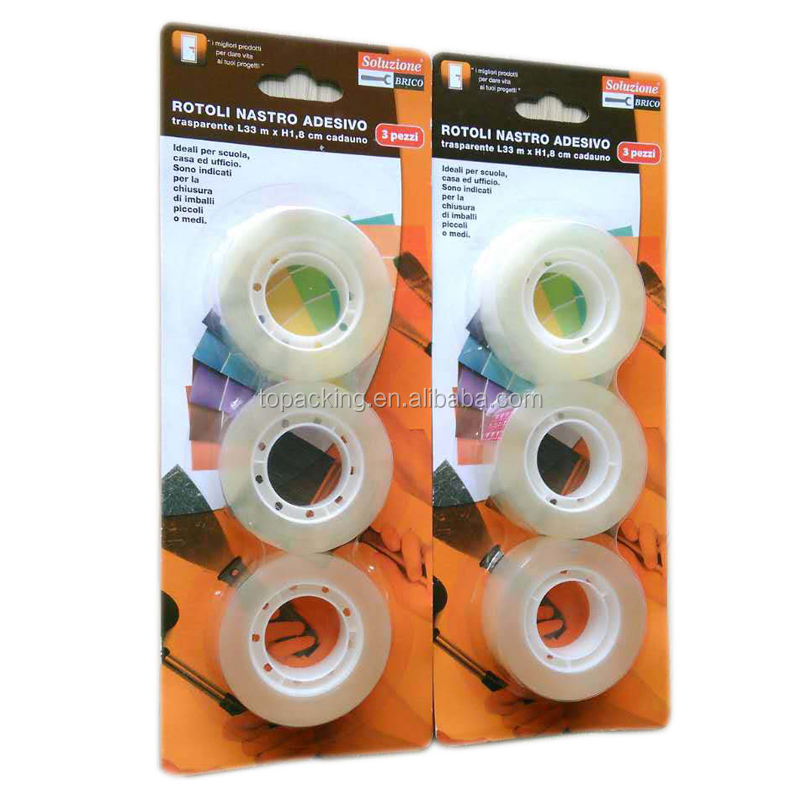 customized cheapest opp Adhesive Stationery Tape School/Office Tape