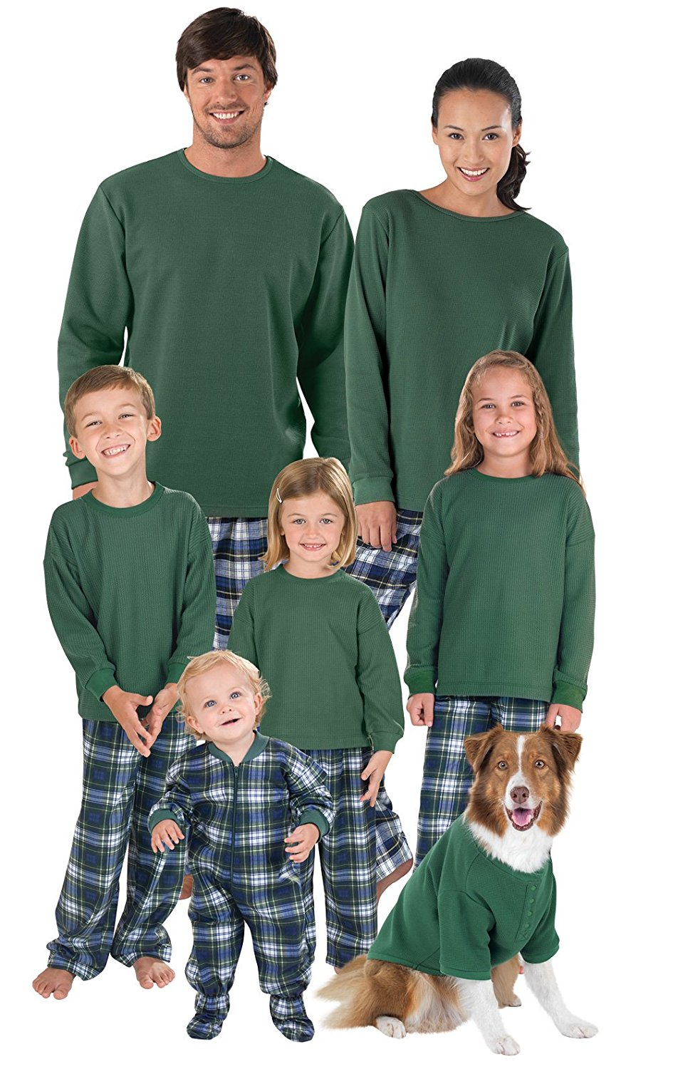 5c4c4bb0bd Buy Plaid Family Matching Flannel Pajamas by SleepytimePjs in Cheap ...